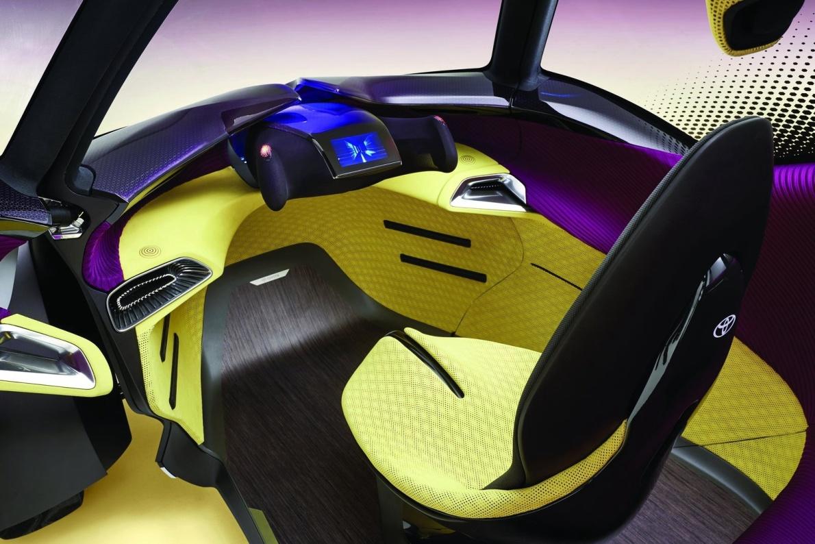 2017款 丰田 i-TRIL Concept 官图 座椅空间