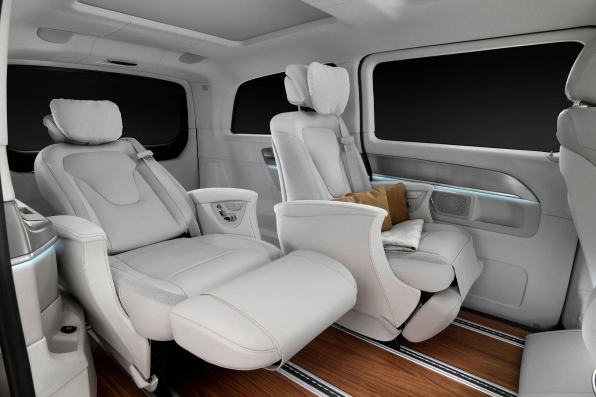 2015款 奔驰 V级 e Concept 官图 座椅空间