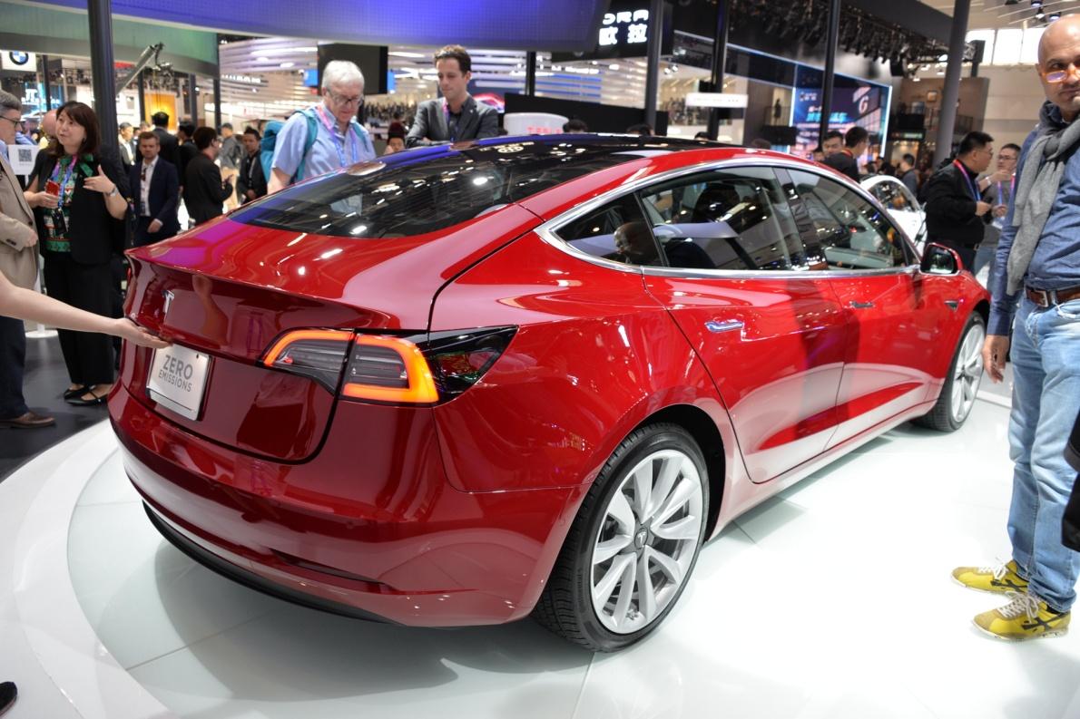 2018款 特斯拉 Model 3 车展 外观