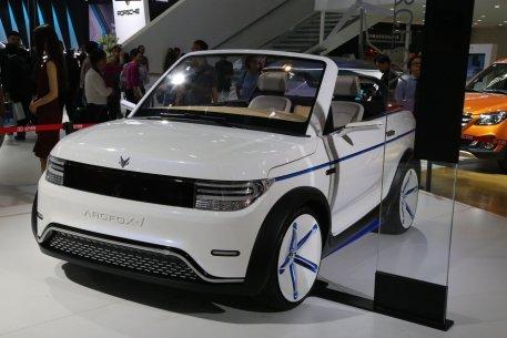 2016款 北汽新能源ARCFOX-1 车展 外观