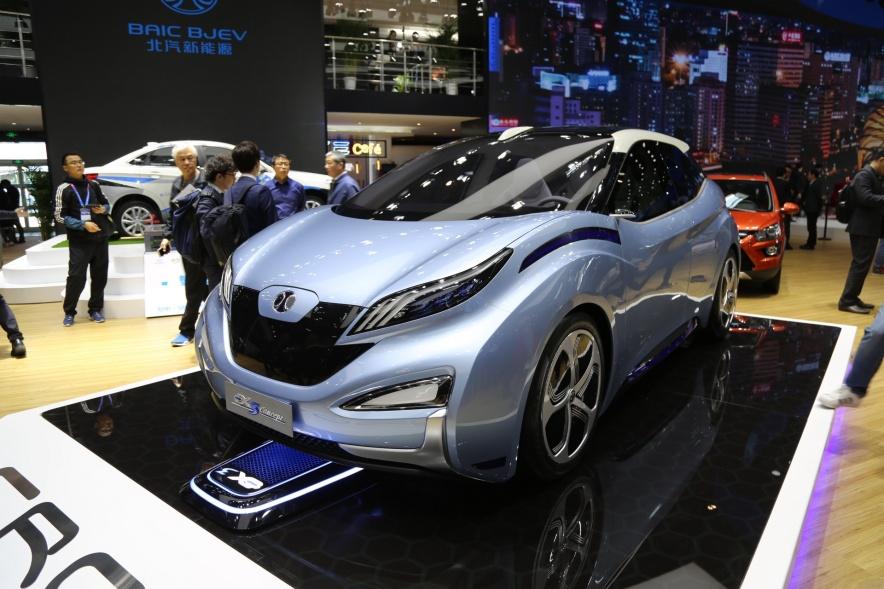 2018款 北汽新能源 EX3 基本型 车展 外观