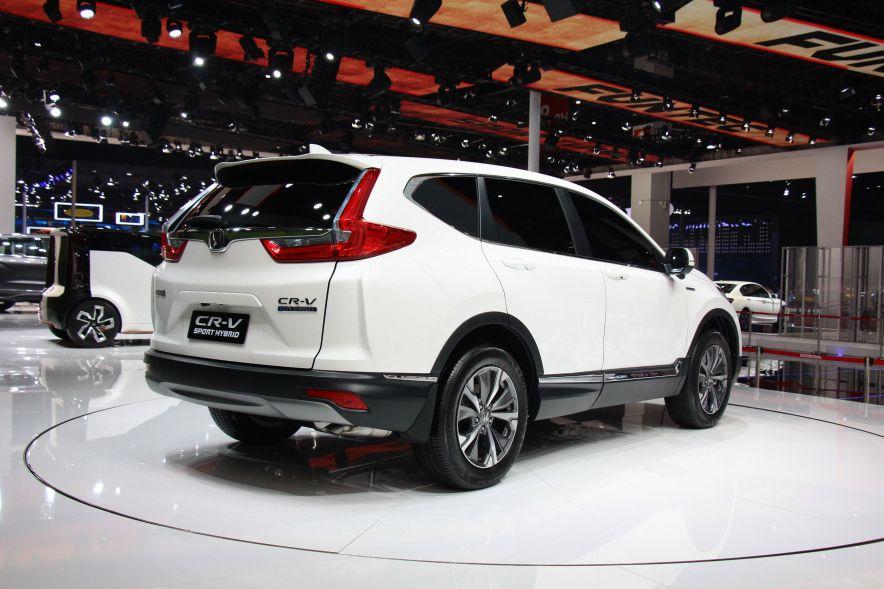 2017款CR-V Hybrid