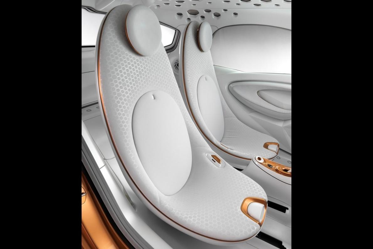 2011款 smart forvision Concept 官图 座椅空间