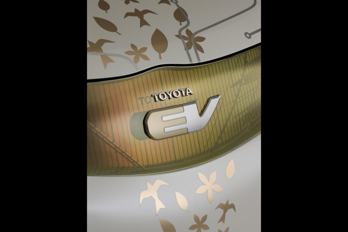 2009款 丰田 FT-EV Concept 官图 外观细节