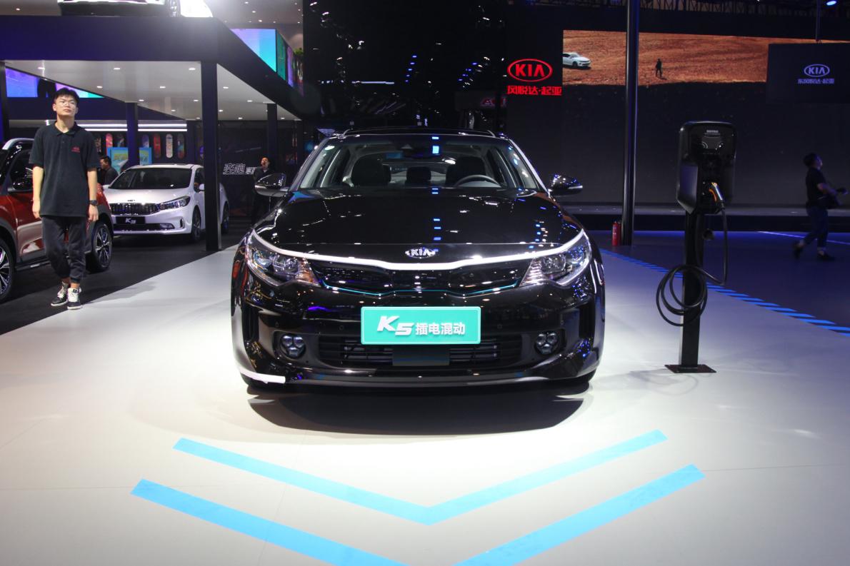2018款 起亚 K5 PHEV 车展 外观