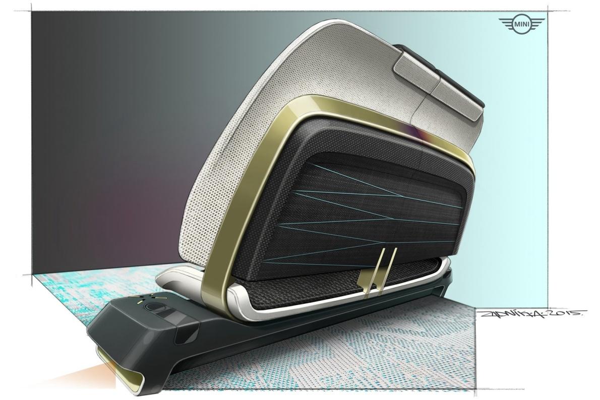 2016款 MINI Vision Next 100 Concept 官图 座椅空间