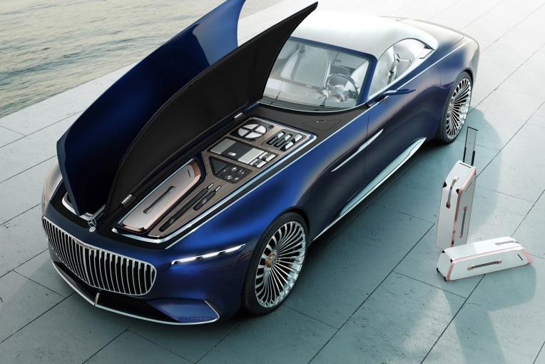 Vision Mercedes-Maybach 6 动力底盘