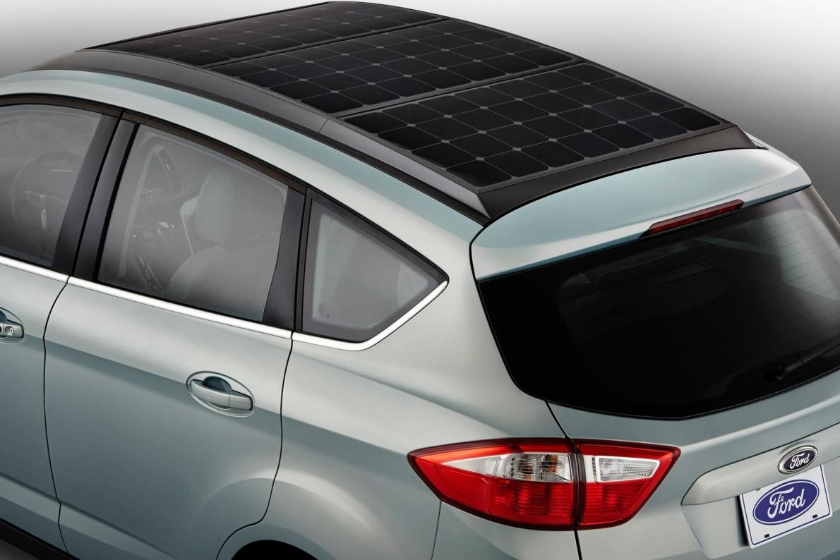 2014款 福特C-MAX Solar Energi Concept 官图 外观细节