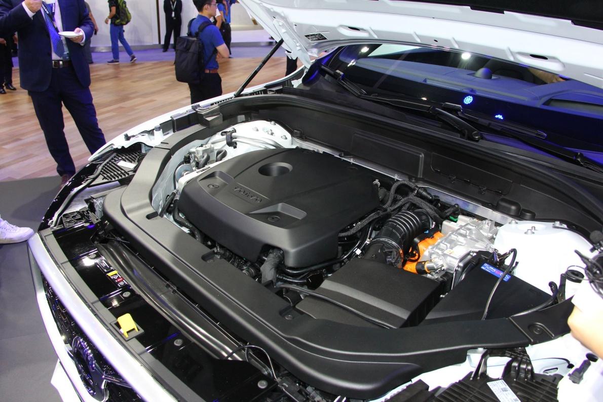 2018款 沃尔沃 XC60 T8 车展 动力底盘