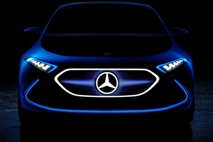 2017款 梅赛德斯奔驰 A级 EQ A概念 官图 外观