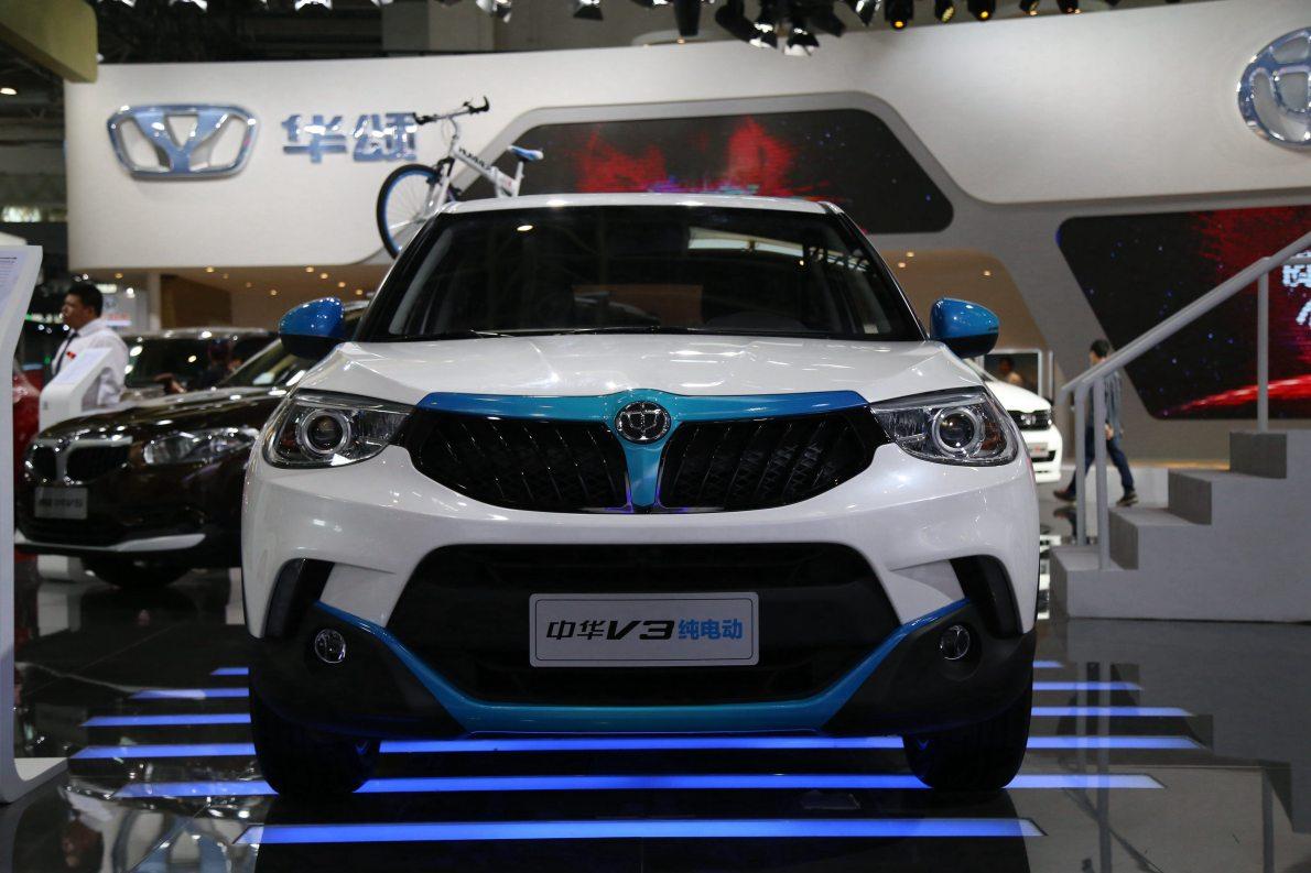 2016款 中华V3EV 车展 外观