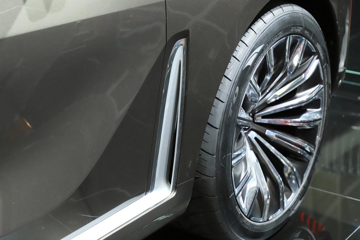 2018款 宝马 X7 车展 细节