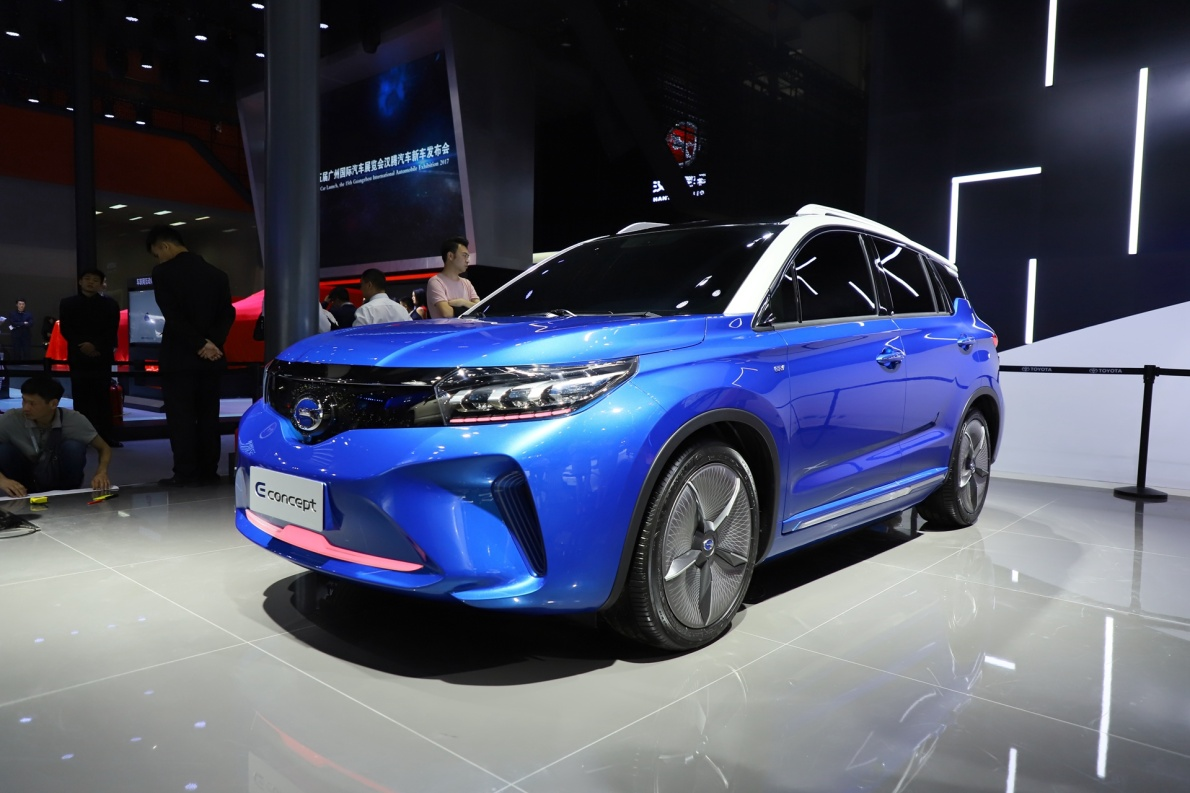 2018款 广汽传褀 E concept 车展 外观