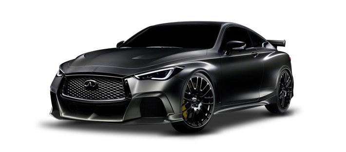 2017款 英菲尼迪Q60 Project Black S Concept 头图
