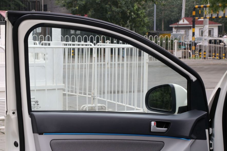 2016款 北汽新能源EV160 轻快版 阿尔卑斯白 实拍 内饰