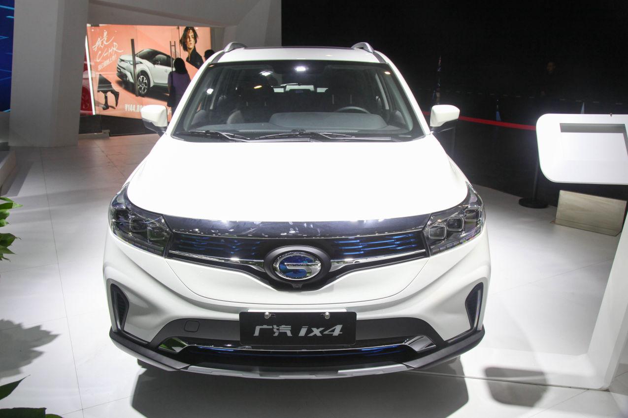 2018款 广汽丰田 ix4 EV 豪华版 车展 外观