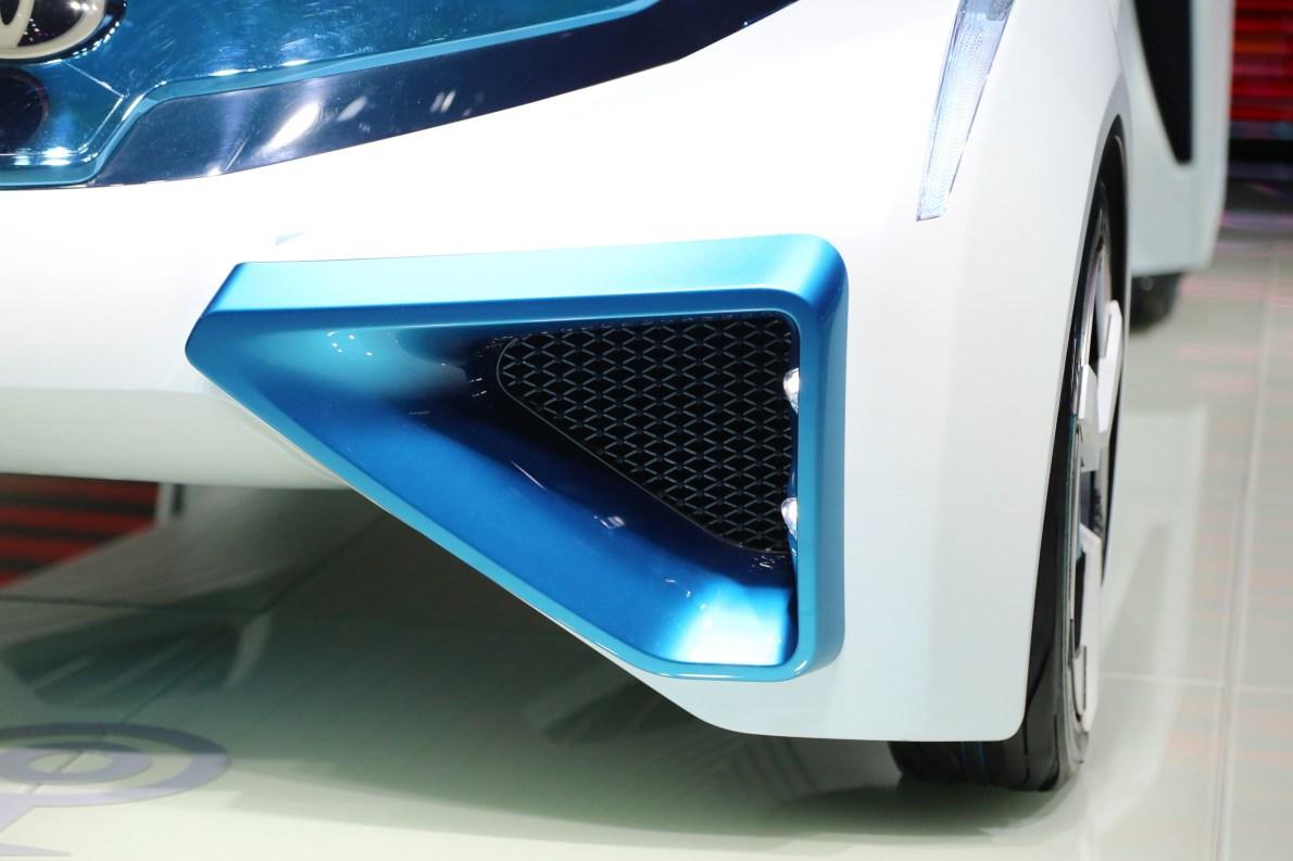 2016款 丰田 FCV Plus Concept 车展 外观细节