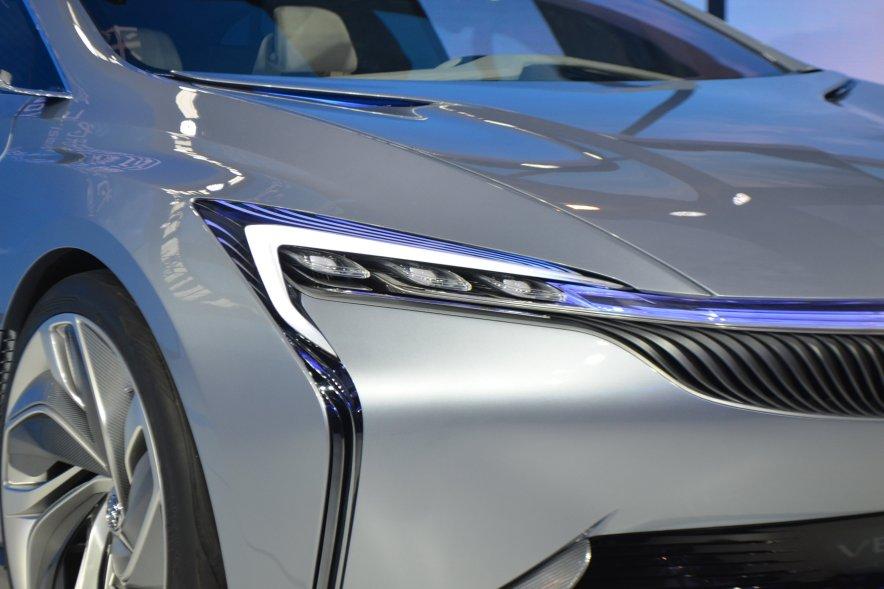 2016款 别克 Velite 基本型 车展 外观细节