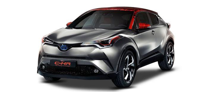 2017款 丰田 C-HR Hy-Power Concept 官图 头图