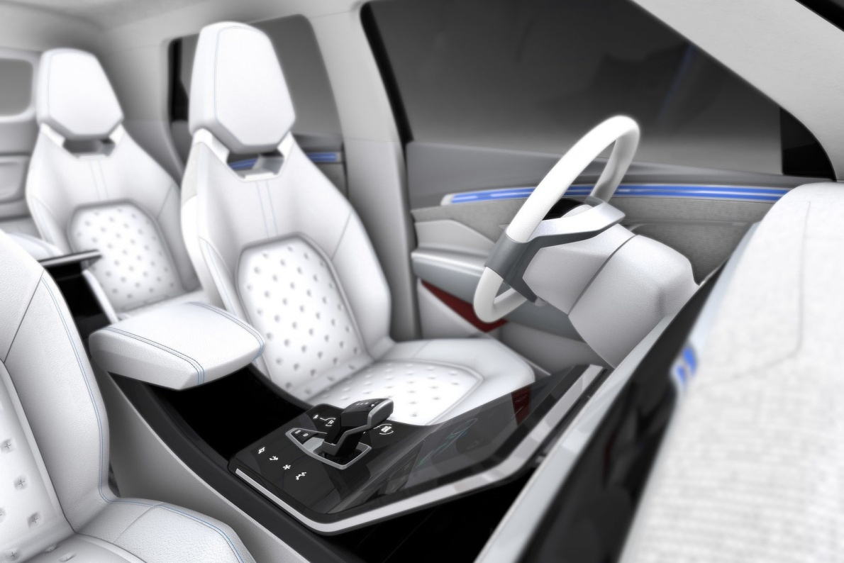2018款 双龙 e-SIV EV Concept 官图 座椅空间