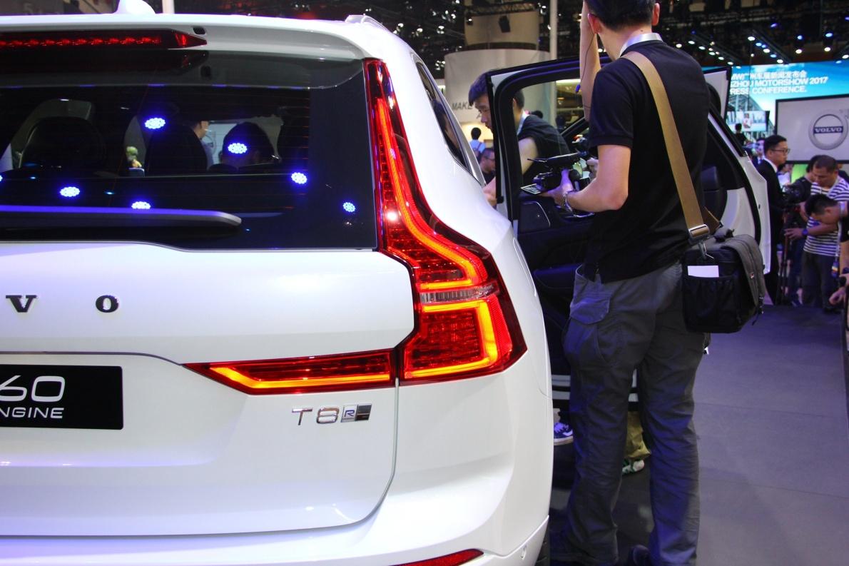 2018款 沃尔沃 XC60 T8 车展 细节