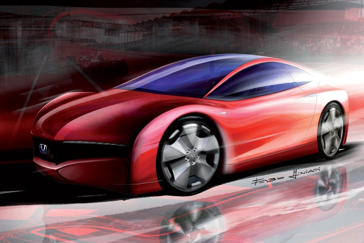 2007款 本田 Small Hybrid Sports Concept 官图 外观