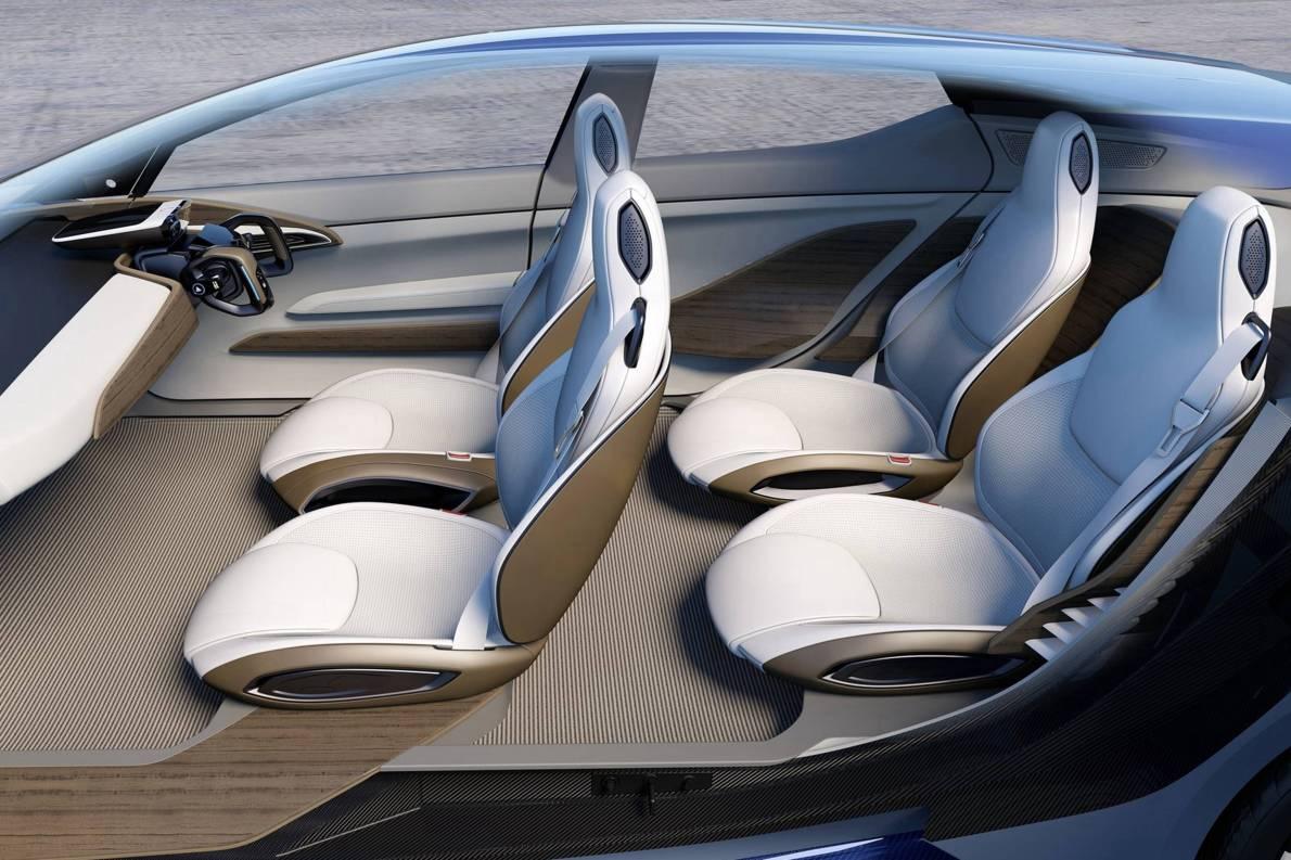 2020款 日产IDS Concept 官图 座椅空间