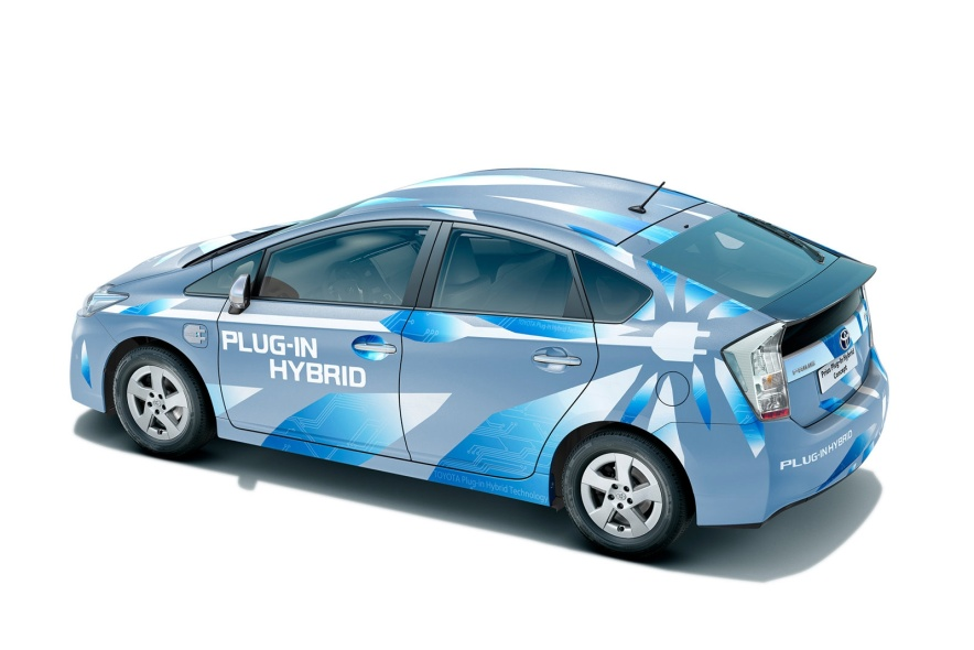 2009款 丰田 普锐斯 Plug-in Hybrid Concept 官图 外观