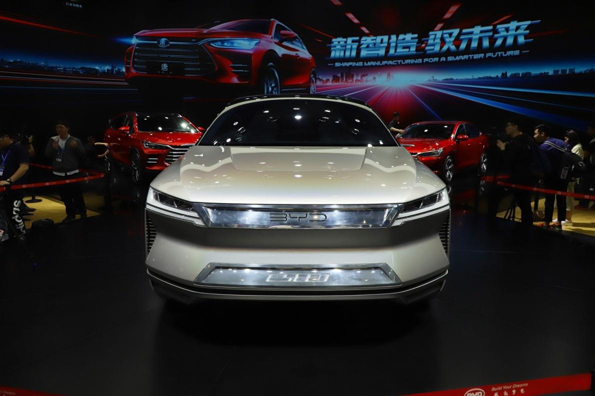 2018款 比亚迪 E-SEED Concept 车展 外观