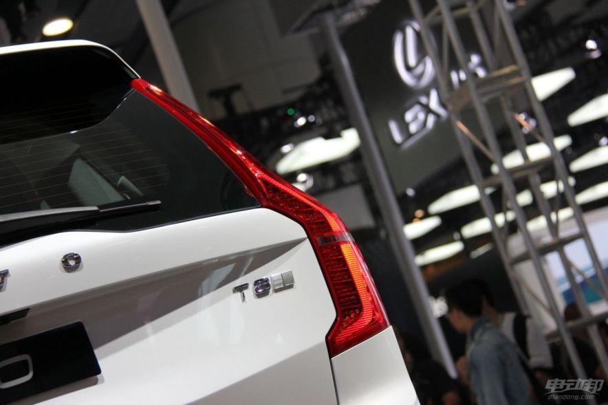 2014广州车展沃尔沃XC90 T8