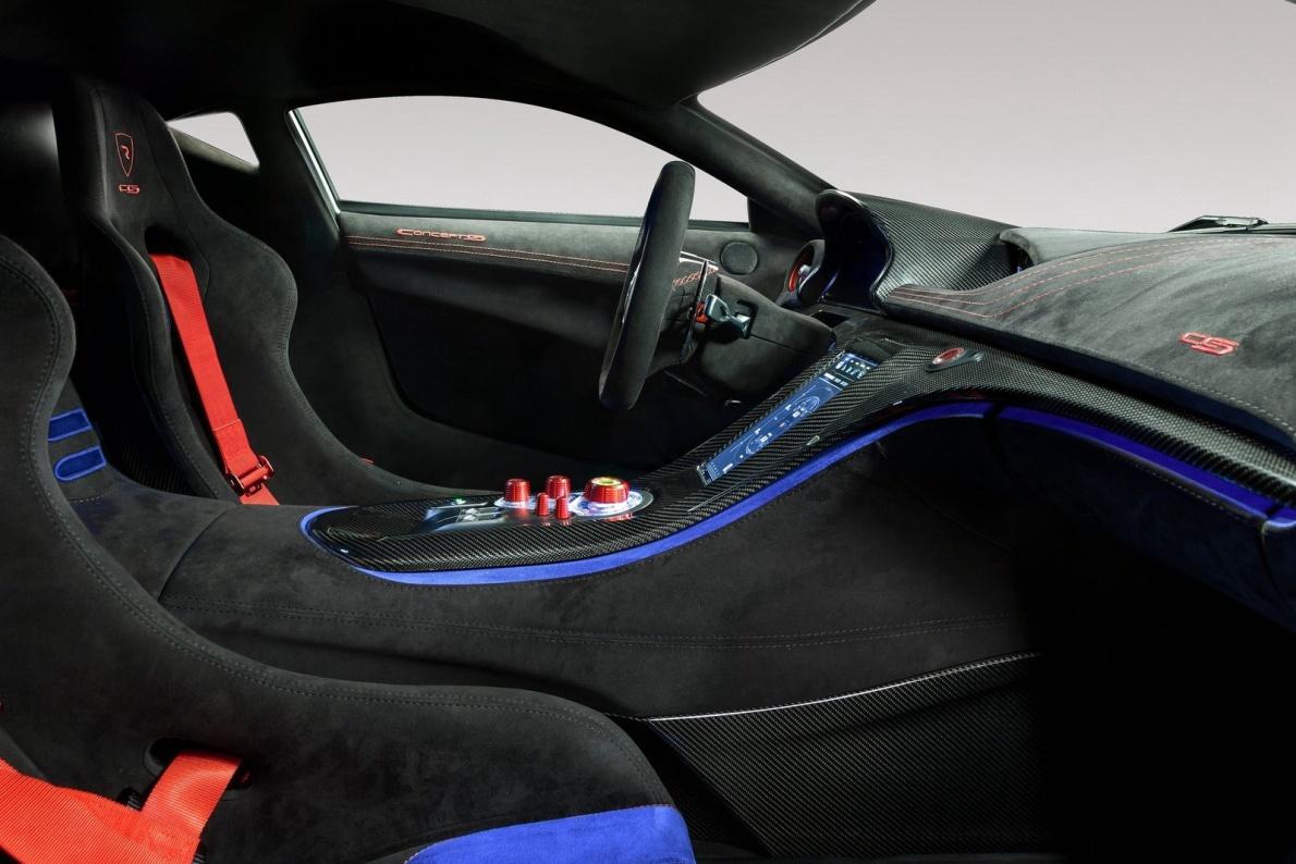 2016款 Concept S 官图 座椅空间