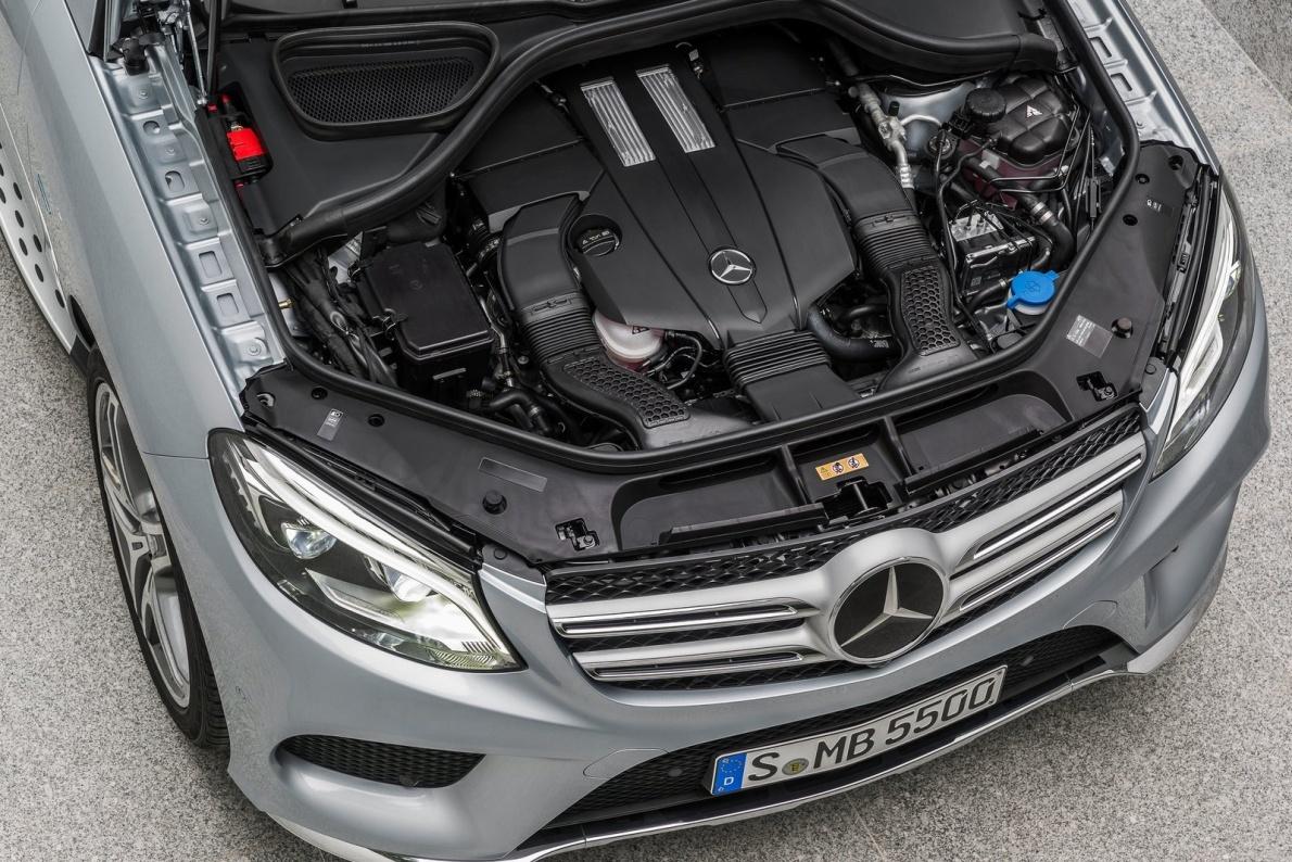 2016款 奔驰GLE 500e 官图 动力底盘