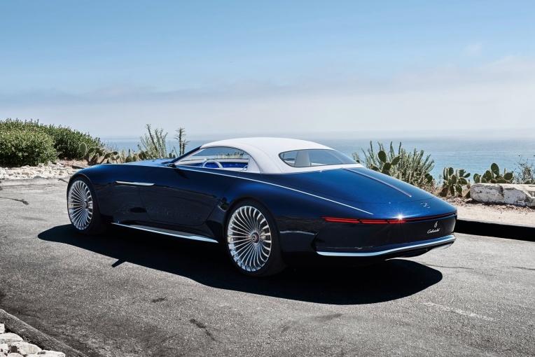 Vision Mercedes-Maybach 6 外观