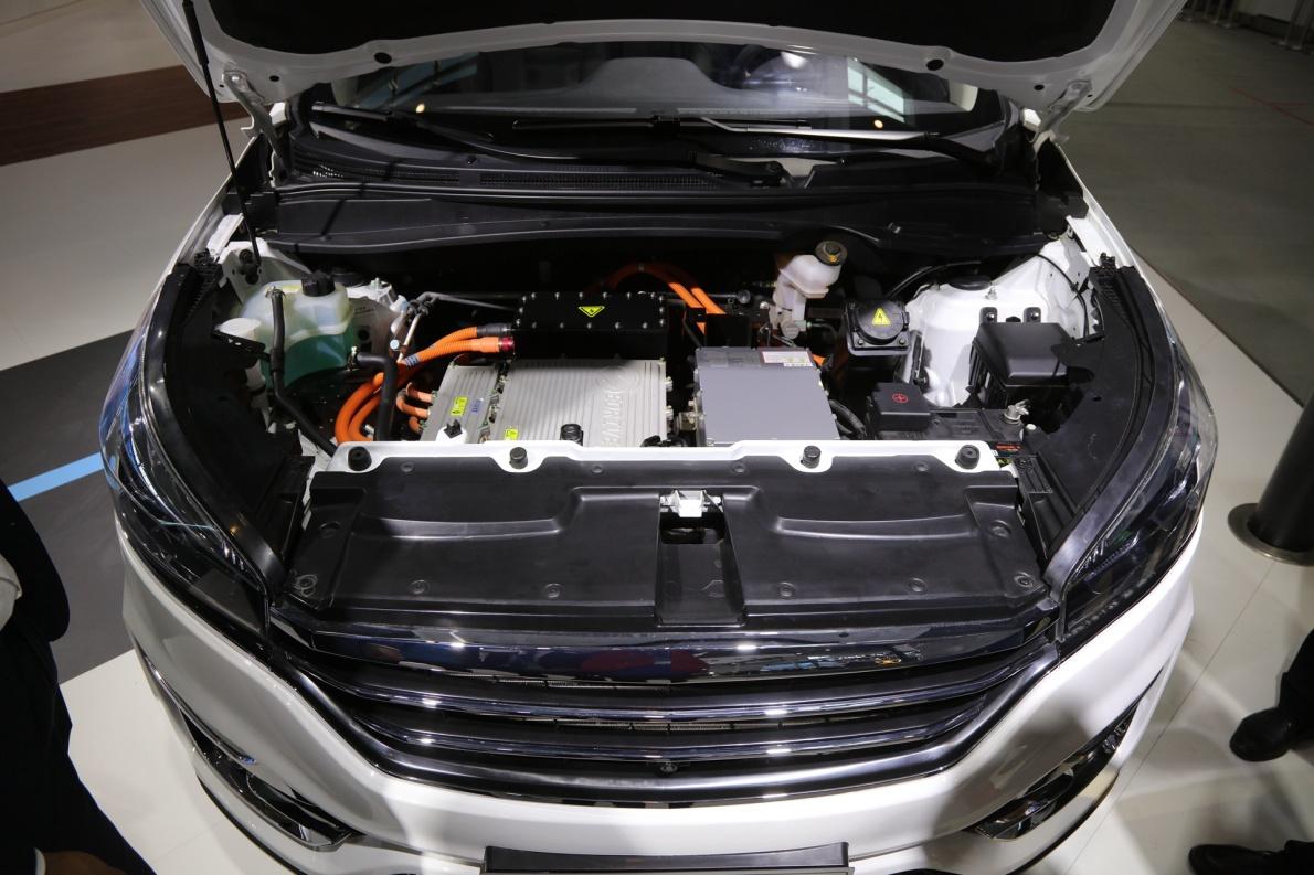 2018款 华泰 圣达菲 XEV400 车展 动力底盘