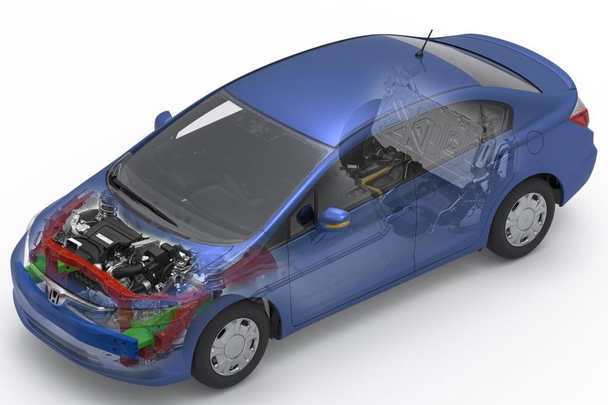 2012款 本田 思域 Hybrid 官图 动力底盘
