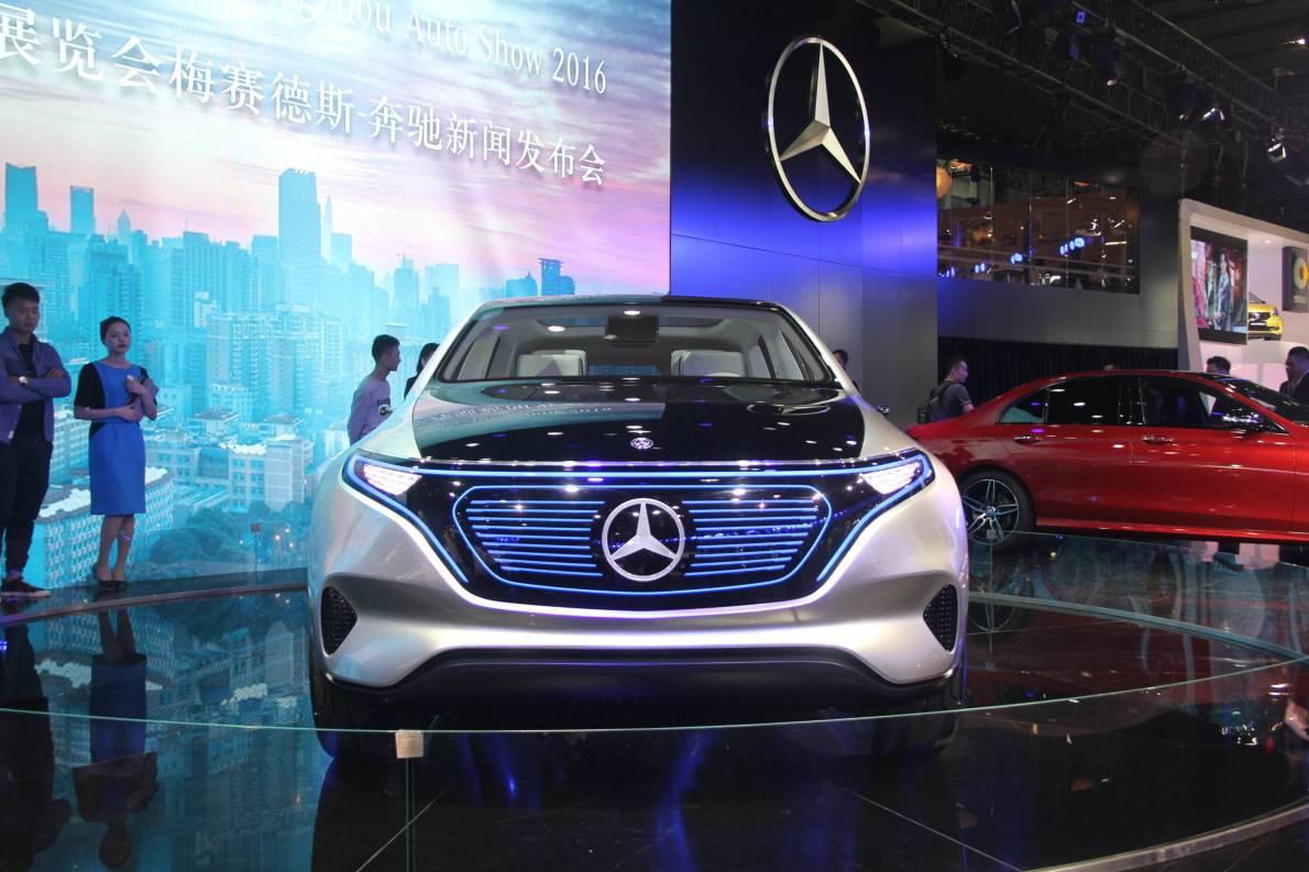 2016款 奔驰 Generation EQ Concept 车展 外观