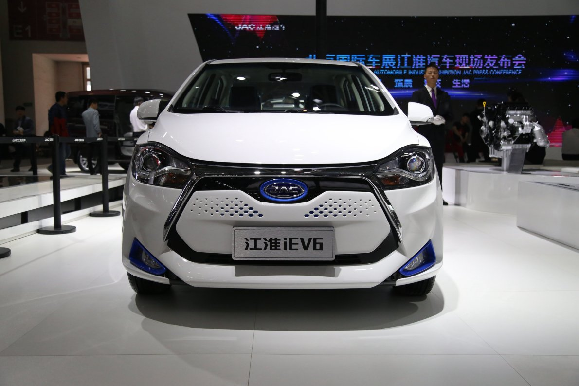 2016款 江淮iEV6 车展 外观