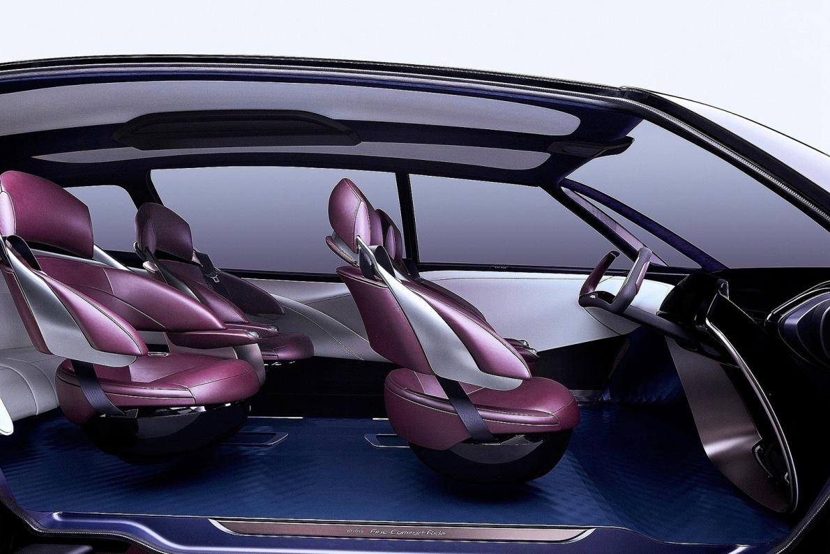 2017款 丰田 Fine-Comfort Ride 概念 官图 座椅空间
