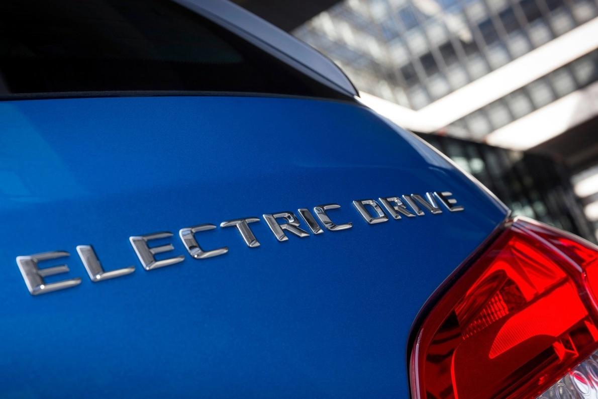 2015款 奔驰 B级 Electric Drive 官图 外观细节
