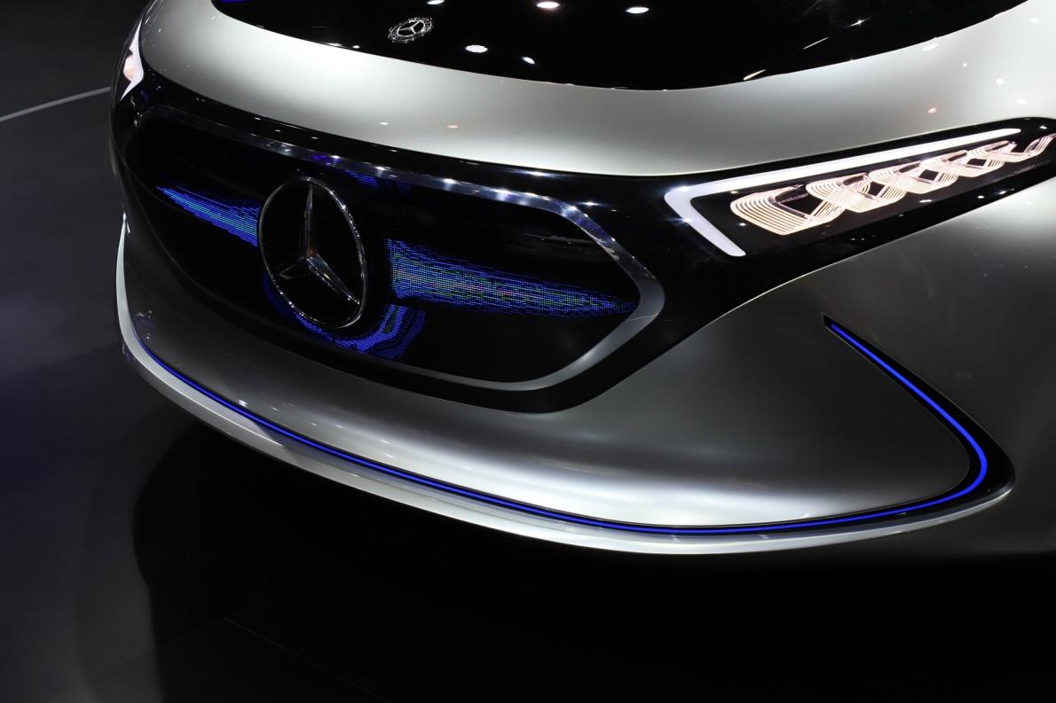 2018款 奔驰 EQ A 车展 细节