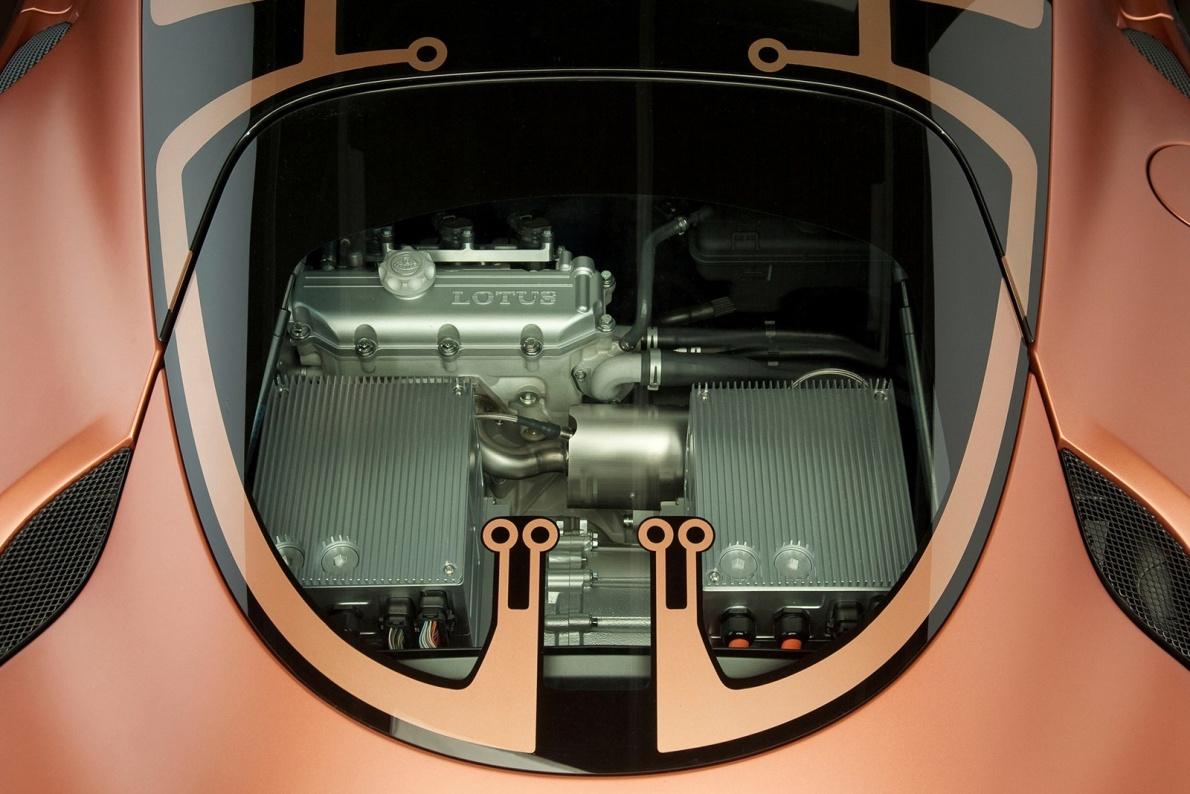 2010款 路特斯 Evora 414E Hybrid Concept  官图 动力底盘