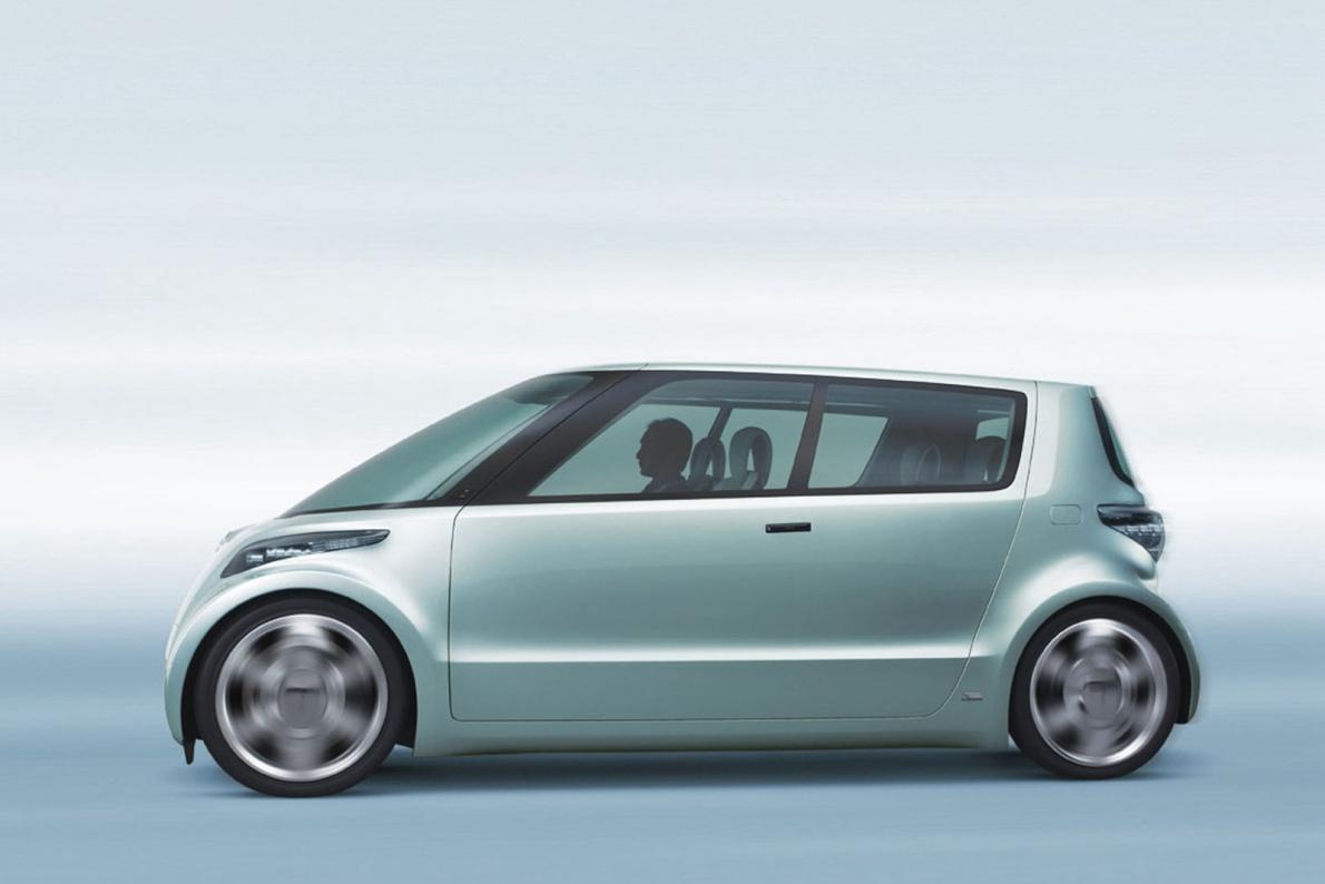 2006款 丰田 Fine-T Fuel Cell Hybrid Concept 官图 外观