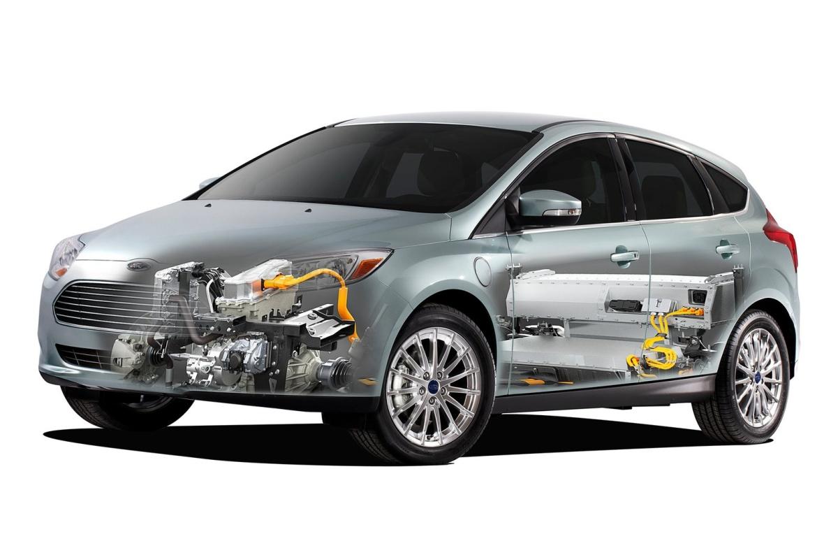 2012款 福克斯Electric 官图 动力底盘