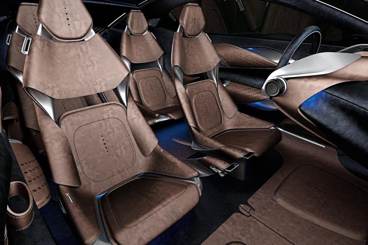 2015款 阿斯顿·马丁DBX 官图 座椅空间