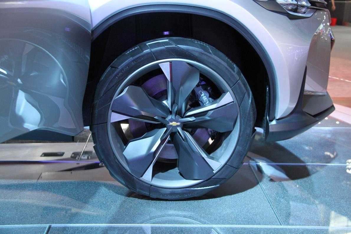 2018款 雪佛兰 FNR-X 车展 细节