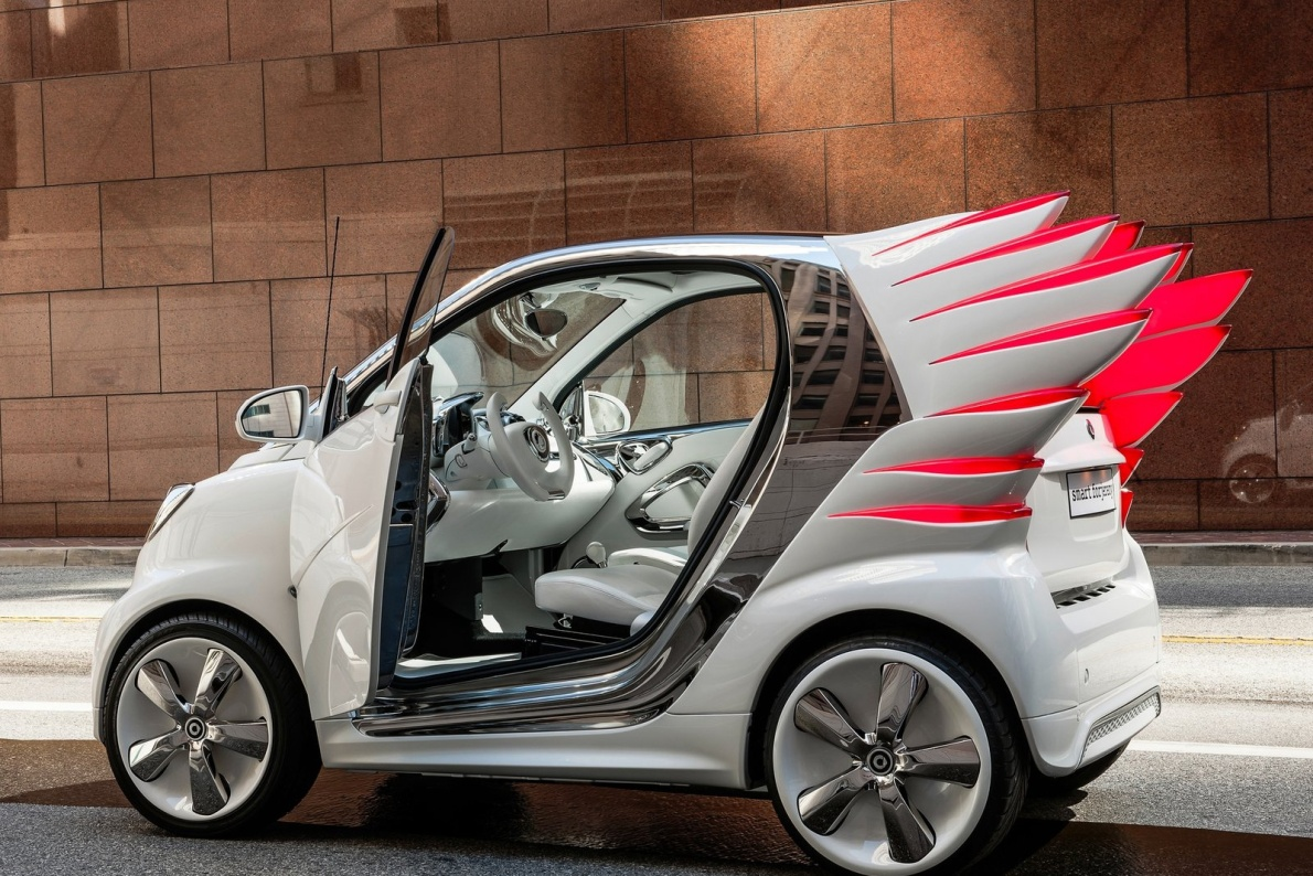 2012款  smart forjeremy Concept 官图 外观