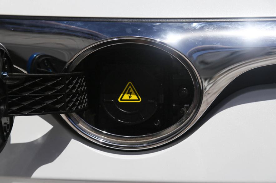 2018款 北汽新能源 EU系列 EU5 实拍 充电