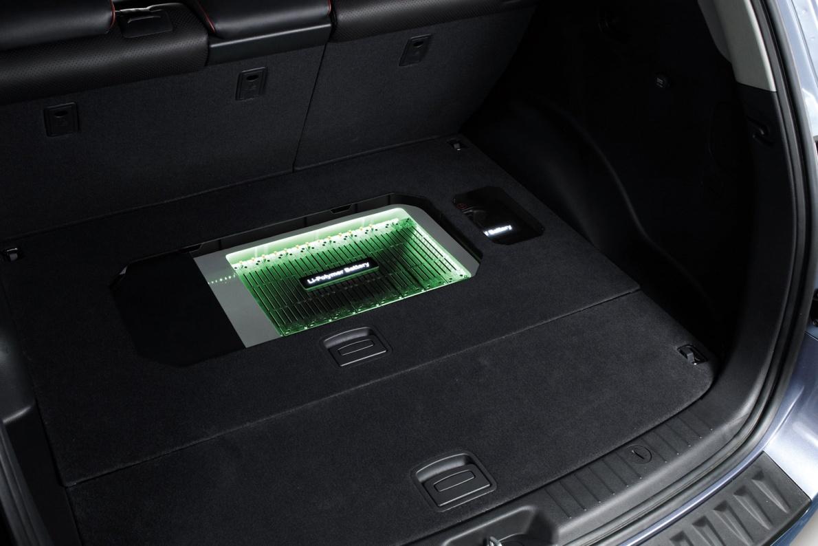 2008款 现代 圣达菲 Blue Hybrid Concept 官图 动力底盘