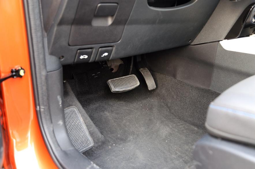 2018款 长按 CS15 EV350i 闪光炫彩橙黄 实拍 内饰
