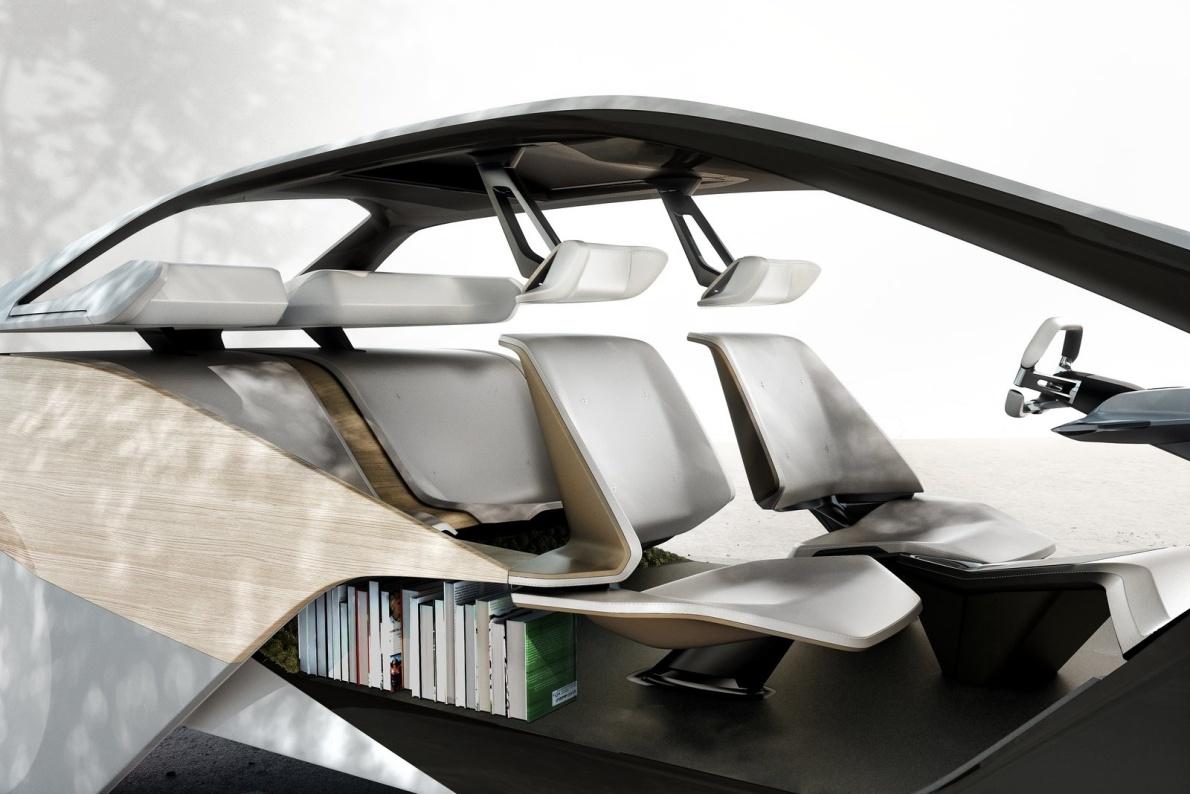 2017款 宝马 i Inside Future Concept 官图 座椅空间